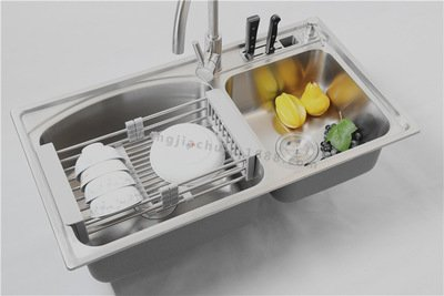 Amazon.com: Dish Drainers, Windspeed Extendable Over Sink Dish ...