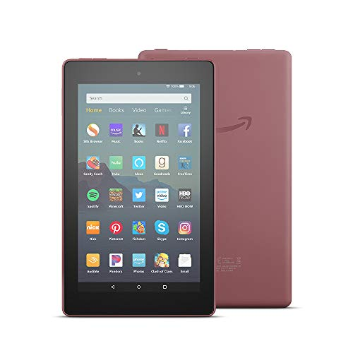 "All-New Fire 7 Tablet (7"" display, 16 GB, with Special Offers) - Plum"