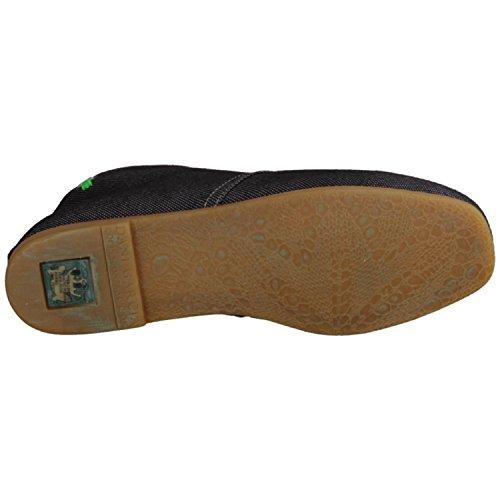 Sneaker Schwarz Croché Damenschuhe N948 Bamboo Naturalista El ac7qHwXw