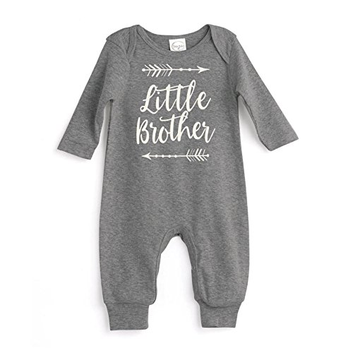 93d523fc1 Tesa Babe Little Brother Baby Romper Grey by - Buy Online in Oman.   Apparel  Products in Oman - See Prices, Reviews and Free Delivery in Muscat, Seeb,  ...