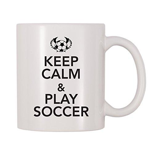 4 All Times Keep Calm And Play Soccer Mug (11 oz)