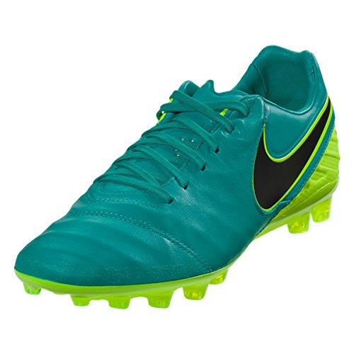 47e07a4e41b50 Amazon.com: Nike Tiempo Legacy II AG-R CLEAR JADE/VOLT/BLACK: Sports ...