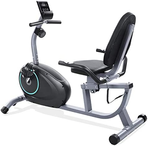 MARNUR Recumbent Exercise Bike Stationary Magnetic Home Exercise Bike