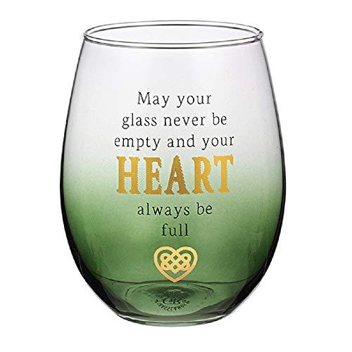 Grasslands Road Heart Stemless Wine Glass