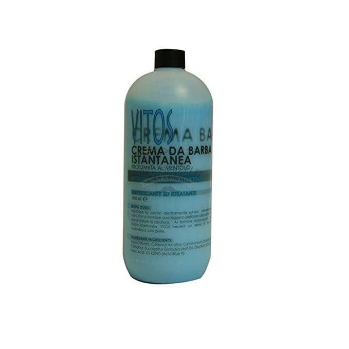 Crema de afeitar instantánea VITOS 1000 ml DARN.018: Amazon.es ...