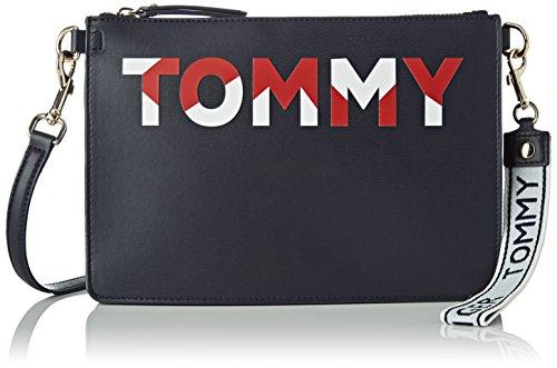 Azul Tommy Hilfiger Corporate Bandolera Mujer Mix AW0AW05505 dqrwICnq