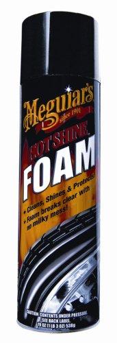 Hot Foam (Meguiar's G13919 Hot Shine Tire Foam (19 oz) - 6 Pack)
