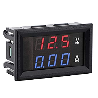 Dc Voltmeter Ammeter Drok Dc4 5 30v Voltage Current Meter 2 In 1 Digital Multimeter 10a Volt Amp Tester Meter With 3 Wires 0 28 Dual Led Display Voltage Testers Amazon Com Industrial Scientific
