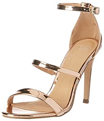 Novo Women's High Heel Strappy Sandals, Margot, Rose Gold, 37 EU