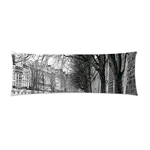 C COABALLA Black and White Decorations Comfortable Rectangular