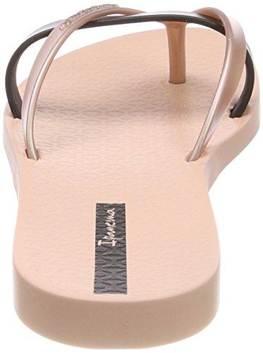 Ipanema Kirei Fem, Chanclas Para Mujer Mehrfarbig (Pink/Black)