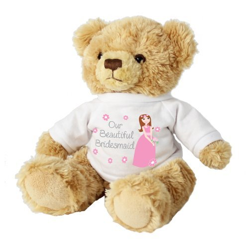 Our Beautiful BRIDESMAID Cuddly Teddy Bear Gift Present for Bridesmaids by ()
