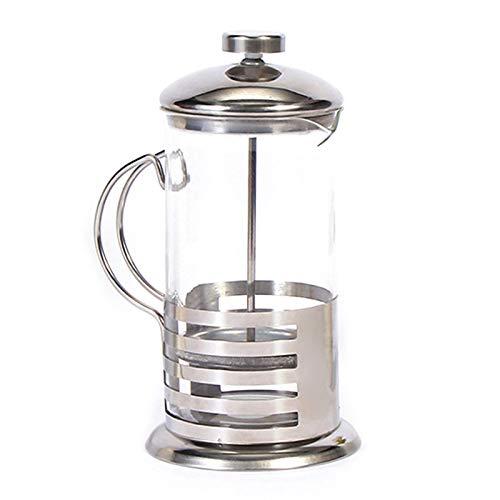 Kamenda Cafetera manual de café espresso con filtro percolador de acero inoxidable para cafetera, cafetera, prensa…