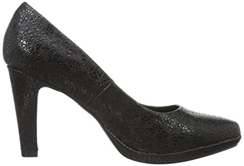 De Con Bugatti 100 Zapatos Negro Para Tacón V7962pr6n 100 schwarz Punta Cerrada Mujer wqRERBI