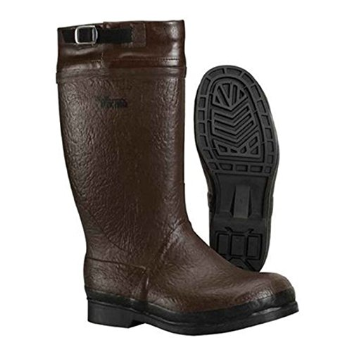 Bota Marina Aislada Viking Brown 13 Gator