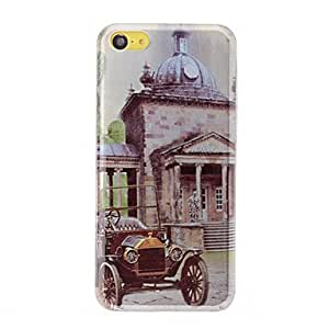 YULIN 3D Vintage Car Pattern PC Hard Case for iPhone 5C