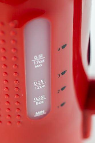 Bodum Bistro 11451 294EURO Bouilloire Electrique 0,5 L Rouge