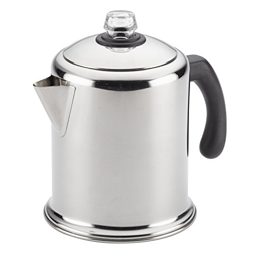 Percolator Coffee Camp - Farberware 47053 Stainless Steel Stove Top Percolator, 12-Cup,