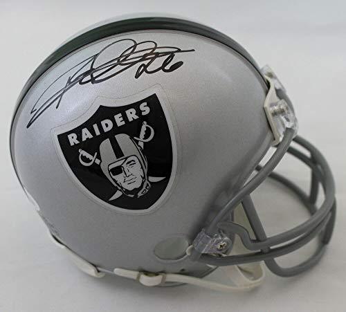 Rod Woodson Autographed Oakland Raiders Mini Helmet JSA ()