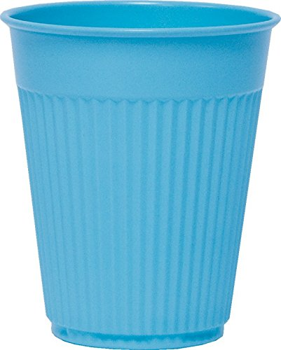 Solo PCF5B-00001 5 oz Blue Fluted Plastic Medical Cup (Case of ()