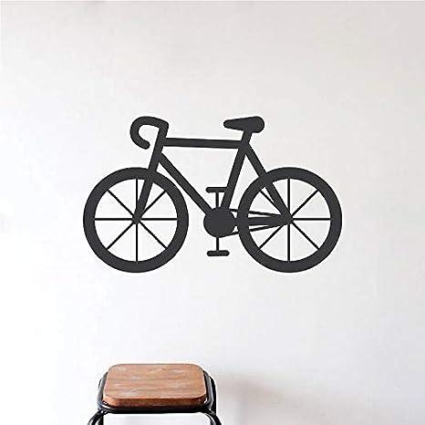56X90 cm Bicicleta de Vinilo Etiqueta de La Pared Diseño Artístico ...