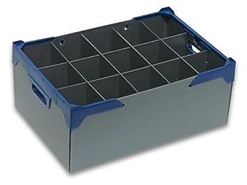 bierglas aufbewahrungsboxen 3er pack glaswaren crates