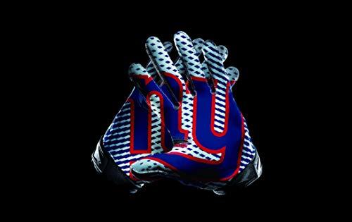RongJ- store New Sports Flag NFL New York Giant Glove Pattern 3x5FT Banner Champion Flag