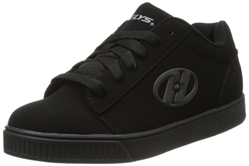Heelys Straight Up Skate Shoe (Little Kid/Big Kid) Black