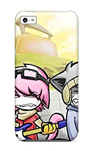 Fashion Tpu Case For Iphone 5c- Flcl Defender Case Cover