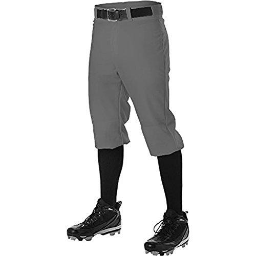 Alleson Men's Knicker Baseball Pant Graphite