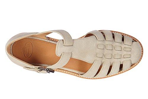 Church's sandalias mujer en ante nuevo soft castoro beige