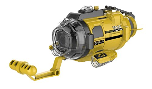 Silverlit Spy Cam Aqua Submarine with Camera, Yellow, 4.5""