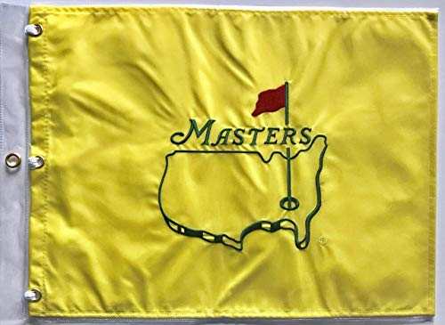 Masters golf Flag undated pin flag augusta national 2019 Masters tiger woods wins pga
