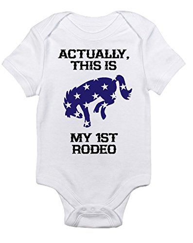My First Rodeo Baby Horse Bodysuit, Short Sleeve, Infant Boys (Newborn)