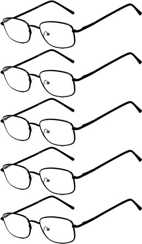 Readers 5 Pack Elegant Womens Mens Reading Glasses - Sunglasses Readers With Inexpensive