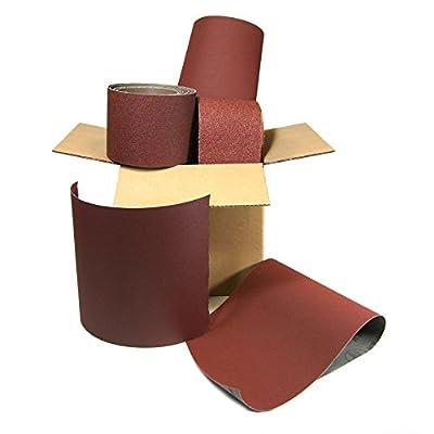 10 Lb Box of Premium Sanding Sheets - Assorted Grits Assorted Sandpaper
