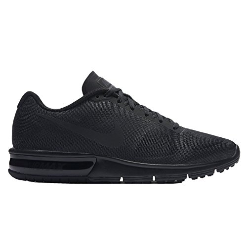 Nike Men's Air Max Sequent Running Shoe Black/Dark Grey Size 12 M US