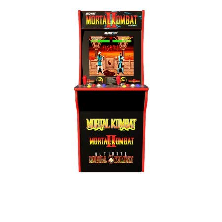 ARCADE1up Mortal Kombat, Mortal Kombat II, Mortal Kombat 3 (Available 2019) (Arcade Machine Mortal Kombat)