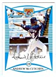 Andrew McCutchen baseball card (Pittsburgh Pirates) 2008 Bowman #BDPP69 Rookie