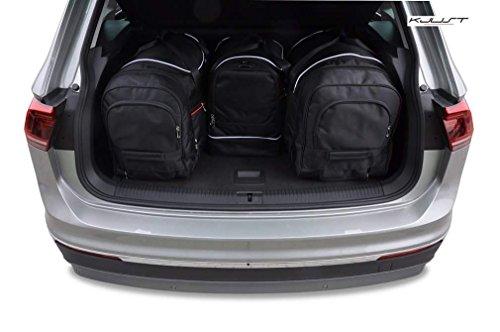 CAR BAGS AUTO-TASCHEN MASSTASCHEN ROLLENTASCHEN VW TIGUAN II, 2016- - KJUST