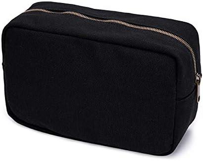 大容量帆布さんシンプルな旅行化粧バッグ