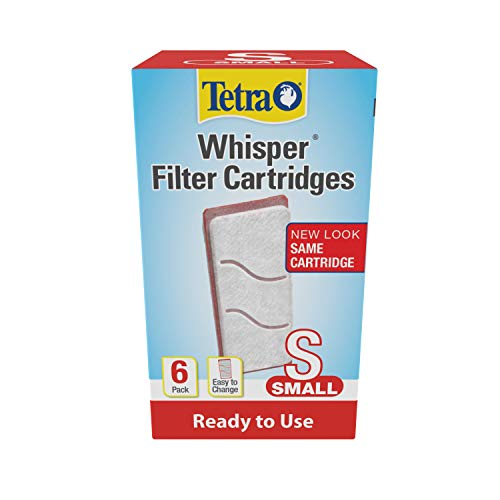 Tetra Whisper Filter Cartridges 6 Count, Small, For