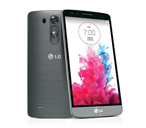 LG G3 LS990, Metallic Black 32GB (Sprint) No Contract