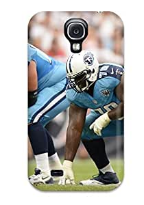 Awesome SQwIpLV1485eaVME JakeNC Defender Tpu Hard Case Cover For Galaxy S4- Tennessee Titans
