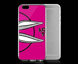 Light weight with strong PC plastic case for Iphone 6 Pop Culture Cartoons Looney Tunes Bugs Bunny Side Purple