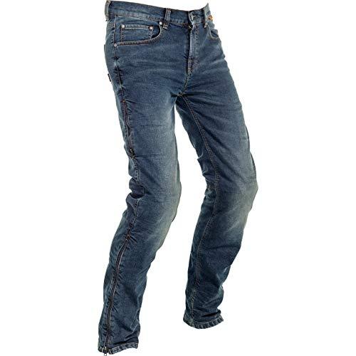 Richa Motorradhose Adventure Jeans blau