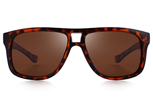 MERRYS Polarized Sunglasses for Men Driving Mens Sunglasses For Men/Women S8459 Leopard