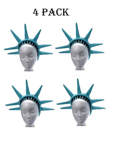 U.S. Toy Statue Of Liberty One Head Piece (4-Pack) ()