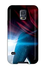 For Galaxy S5 Protector Case 2013 Man Of Steel Movie Phone Cover