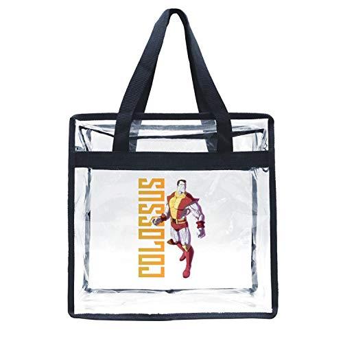 - LUJXN Transparent Shoulder Handbag Eco-Friendly for Women Funky Beach Tote Bag